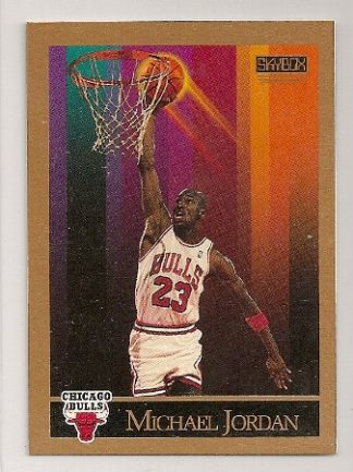 Michael Jordan 1990-91 Skybox Basketball Trading Card