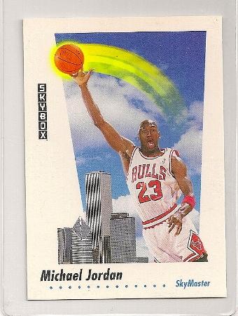 Michael Jordan 1991-92 Skybox Skymaster Basketball Card