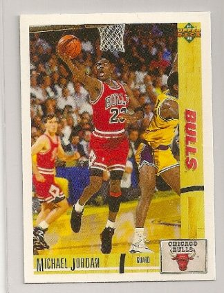 Michael Jordan 1991-92 Upper Deck Basketball Trading Card
