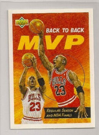 Michael Jordan 1991-92 Upper Deck MVP Basketball Card