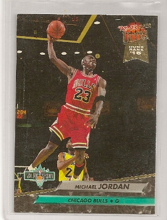 Michael Jordan 1992-93 Fleer Ultra NBA Jam Session Card
