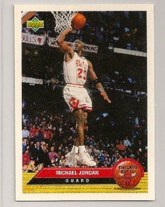 Michael Jordan 1992-93 Upper Deck McDonald's Card