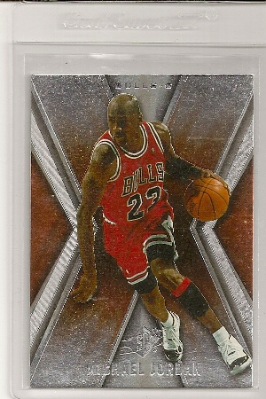 Michael Jordan 2005-06 Upper Deck SPX Card