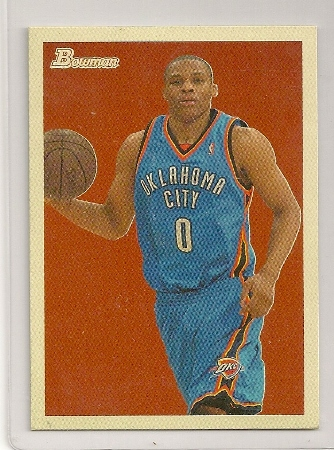 Russell Westbrook 2009-10 Bowman '48 Basketball Trading Card