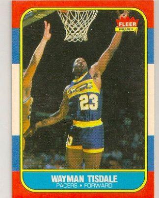 Wayman Tisdale 1986-87 Fleer Rookie Card