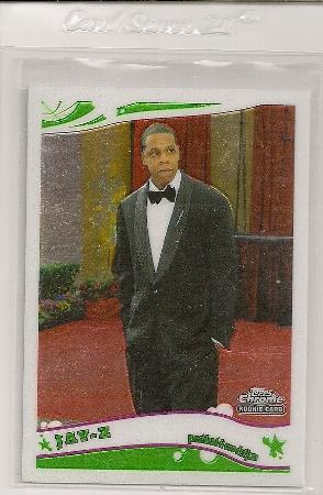 2005-06 Topps Chrome Jay-Z Rookie Card