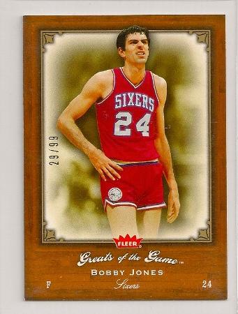 Bobby Jones 2005-06 Fleer Greats of The Game Insert Card