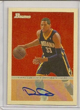 Danny Granger 2009-10 Bowman '48 Autograph Card