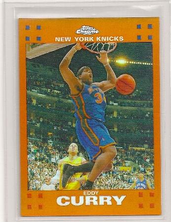 Eddy Curry 2007-08 Topps Chrome Orange Refractor /199