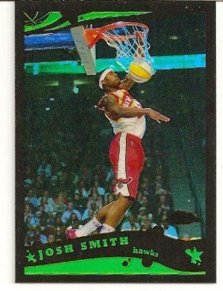 Josh Smith 2005-06 Topps Chrome Black Refractor /399