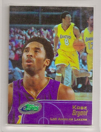 Kobe Bryant 2001 Etopps Card In Hand