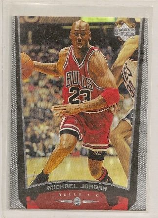Michael Jordan 1998-99 Upper Deck Basketball Card