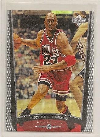 Michael Jordan 1998-99 Upper Deck Basketball Card