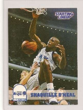 Shaquille O'Neal 1994 Kenner Starting Lineup Basketball Card
