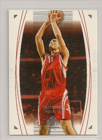 Yao Ming 2003-04 Upper Deck SP Authentic Base Card #26