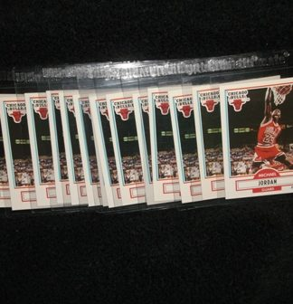 Michael Jordan 1990-91 Fleer Card Lot