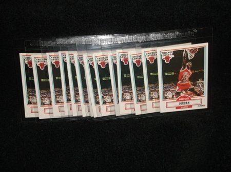 Michael Jordan 1990-91 Fleer Card Lot