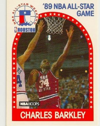 Charles Barkley 1989-90 Hoops All-Star Card