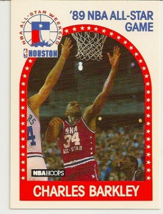 Charles Barkley 1989-90 Hoops All-Star Card