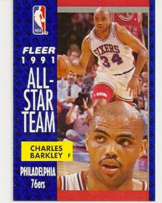 Charles Barkley 1991-92 Fleer All-Star Card