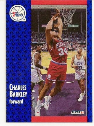 Charles Barkley 1991-92 Fleer Card
