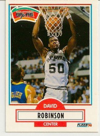 David Robinson 1990-91 Fleer Rookie Card