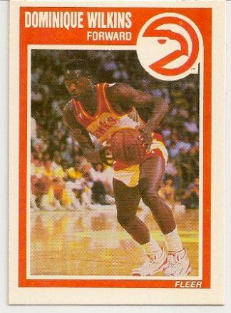 Dominique Wilkins 1989-90 Fleer Card