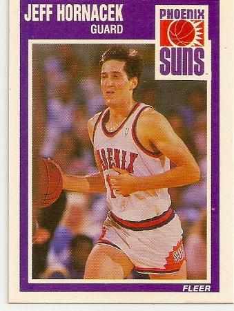 Jeff Hornacek 1989-90 Fleer Rookie Card