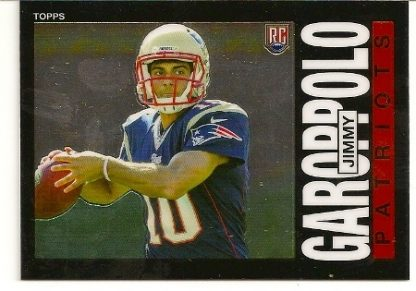 Jimmy Garoppolo 2014 Topps Chrome 1985 Rookie Card