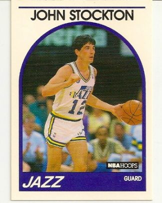 John Stockton 1989-90 Hoops Card