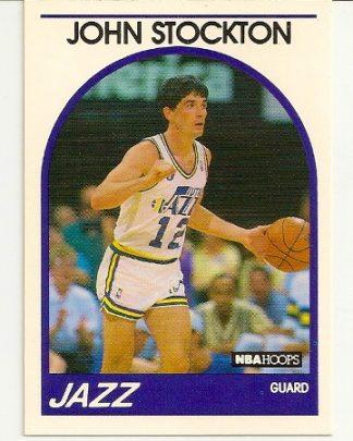 John Stockton 1989-90 Hoops Card