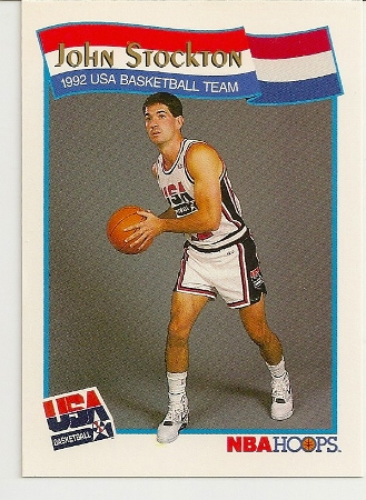 John Stockton 1991-92 Hoops USA McDonald's Card