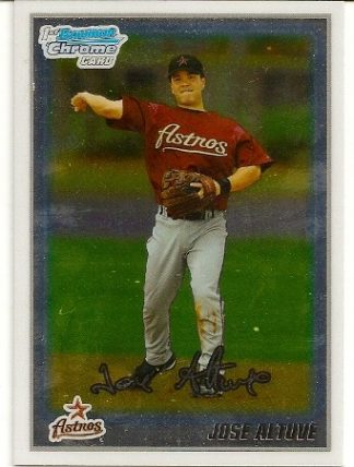 Jose Altuve 2010 Bowman Chrome Rookie Card