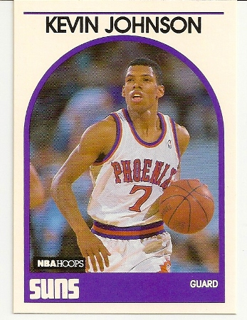 Kevin Johnson 1989-90 Hoops Rookie Card