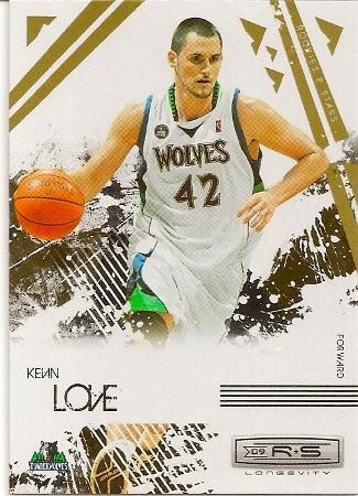 Kevin Love 2009-10 Panini Rookies & Stars Basketball Card