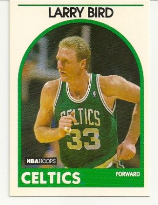 Larry Bird 1989-90 Hoops Card