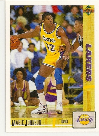 Magic Johnson1991-92 Upper Deck Card