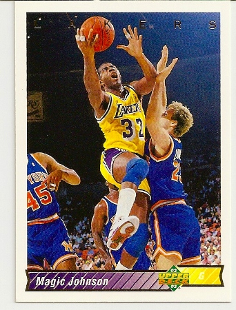 Magic Johnson 1992-93 Upper Deck Short-Print Card