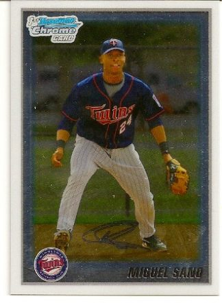 Miguel Sano 2010 Bowman Chrome Rookie Card