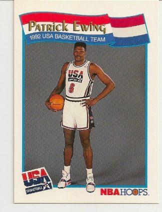 Patrick Ewing 1991-92 Hoops USA McDonald's Card