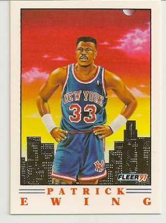 Patrick Ewing 1991-92 Fleer Pro-Visions Card