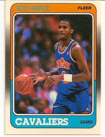 Ron Harper 1988-89 Fleer Card