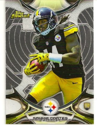 Sammie Coates 2015 Topps Finest Rookie Card