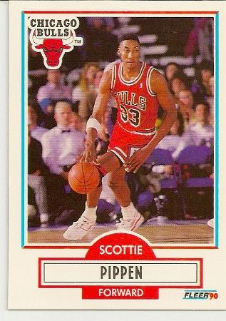 Scottie Pippen 1990-91 Fleer Card