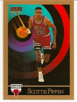 Scottie Pippen 1990-91 Skybox Card