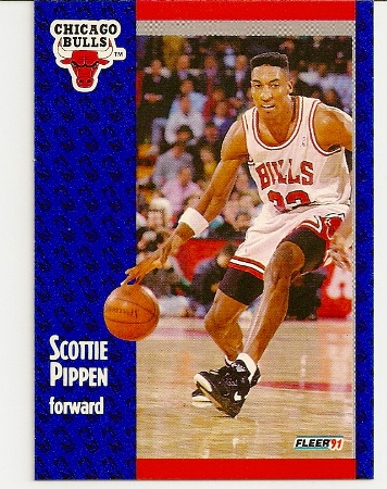 Scottie Pippen 1991-92 Fleer Card