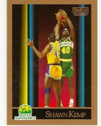 Shawn Kemp 1990-91 Skybox Rookie Card