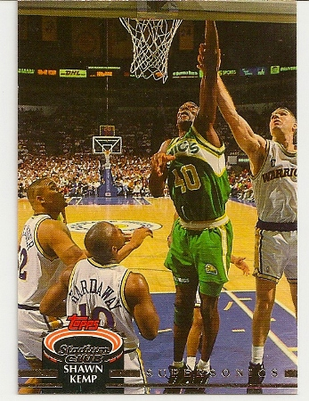 Shawn Kemp 1992-93 Topps Stadium Club