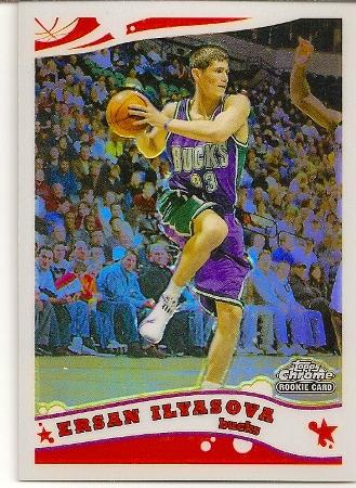 Ersan İlyasova 2005-06 Topps Chrome Refractor Rookie Card