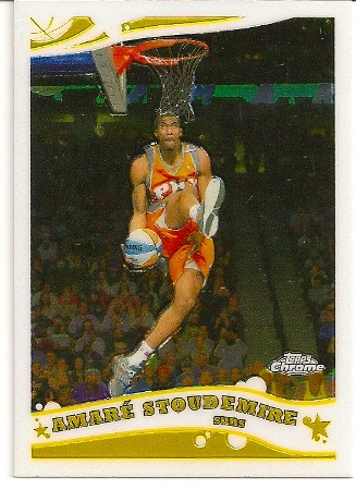 Amare Stoudemire 2005-06 Topps Chrome Basketball Card